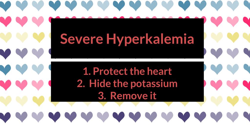 Episode 34: Severe hyperkalemia treatment