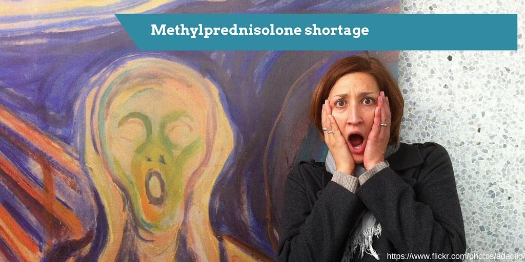 79: Methylprednisolone shortage alternatives