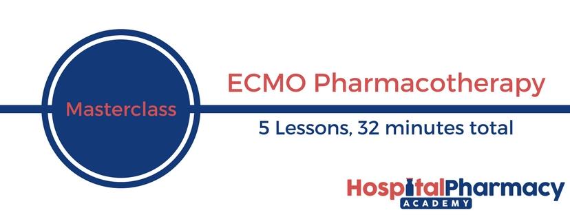 ECMO Pharmacotherapy